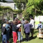 Intervention sur la biodiversite jardin du grand Launay Lanrivain